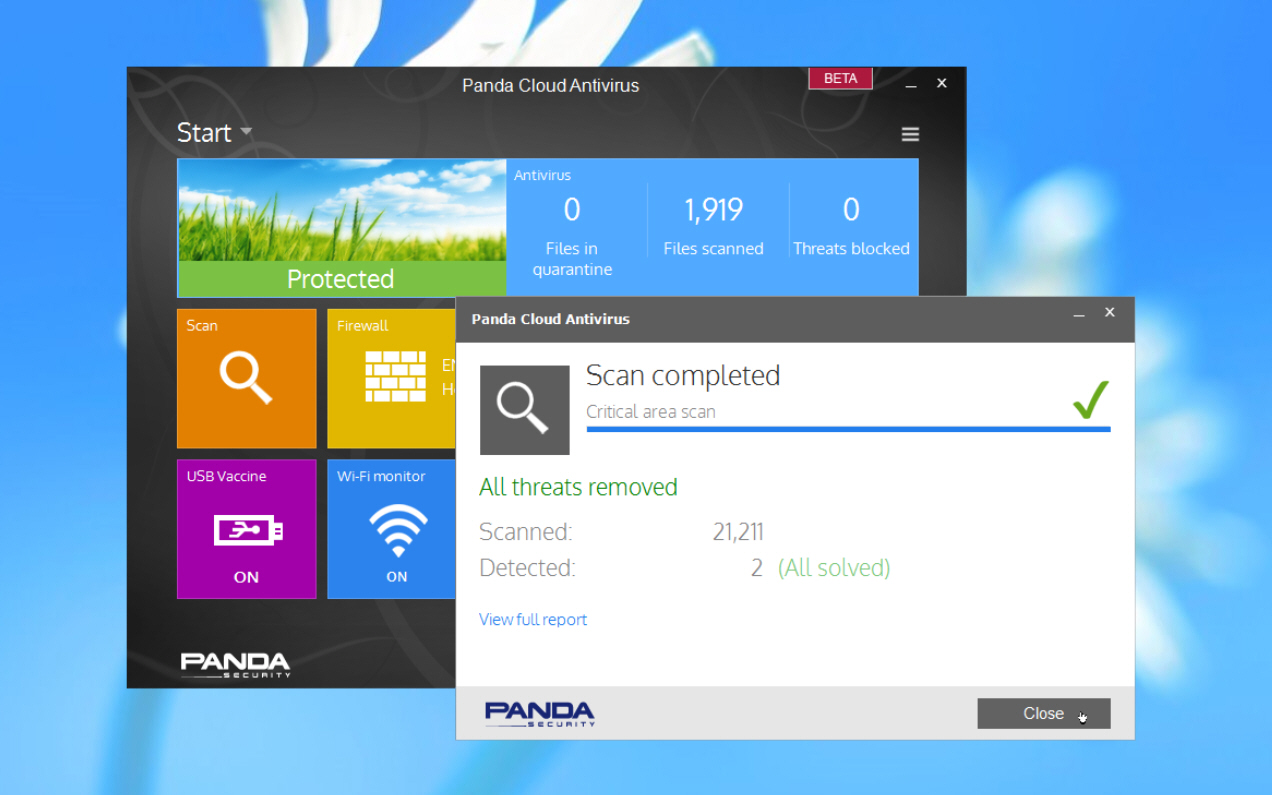 Panda releases Panda Cloud Antivirus Beta 2.9 ahead of final version 3 release