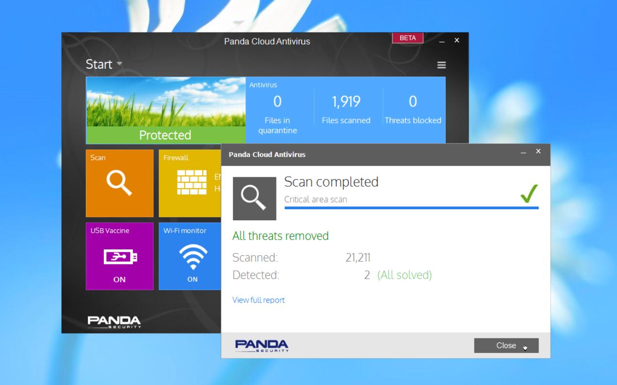 panda releases panda cloud antivirus beta 2 9 ahead of final version 3 release. Black Bedroom Furniture Sets. Home Design Ideas