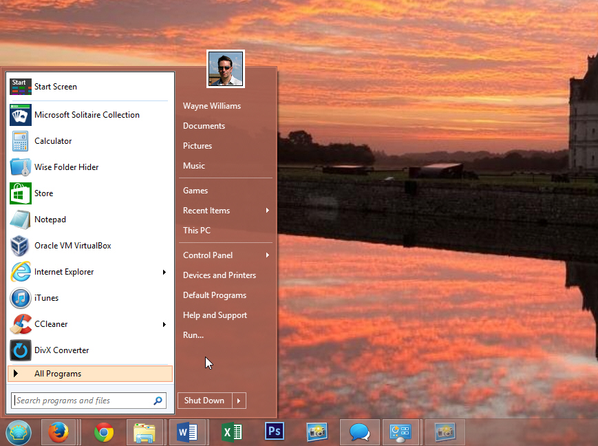 windows 8.1 control panel classic view