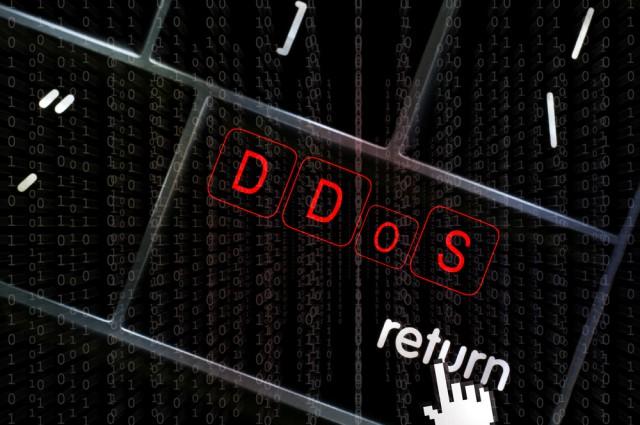 DDoS attack start