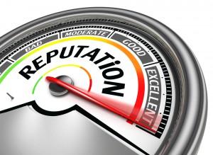 Reputation meter