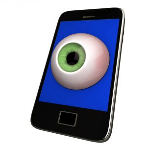 Smartphone eyeball