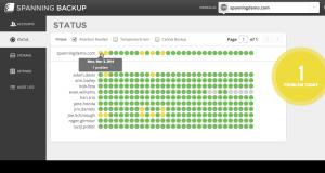 Spanning Redesign Screenshot
