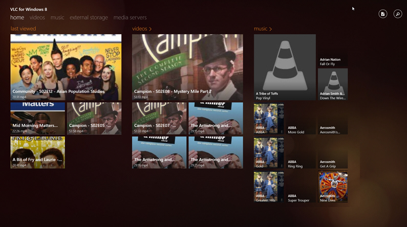 vlc player for windows rt