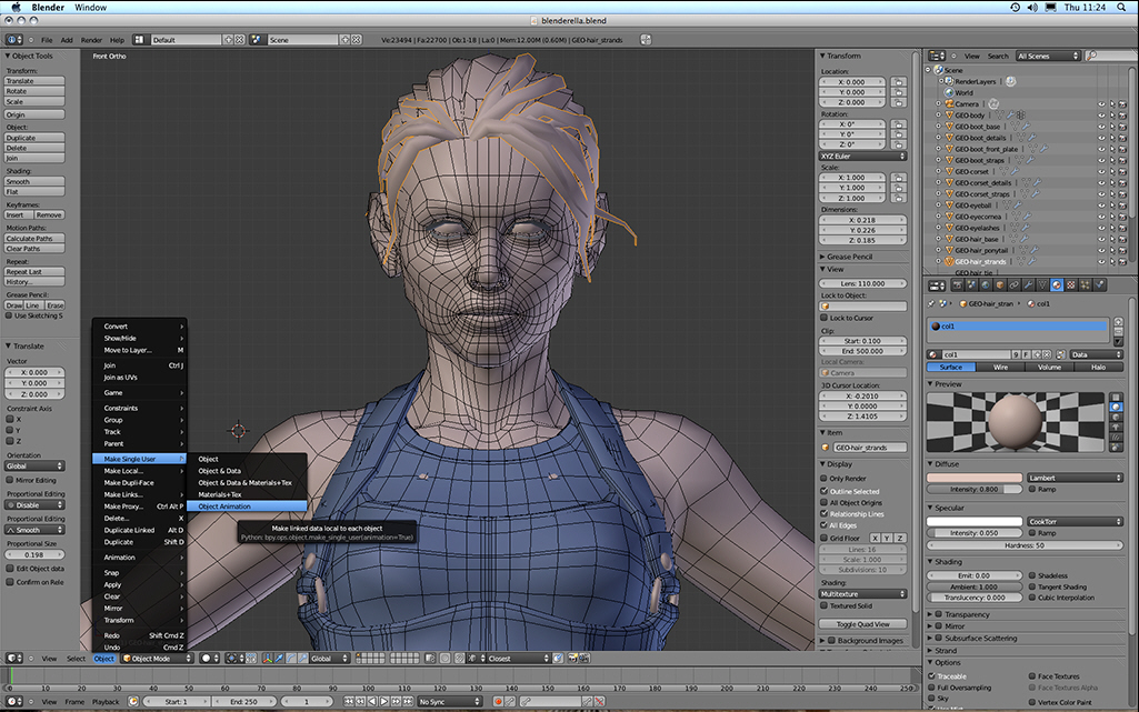 Blender debuts new features, improved performance and better UI