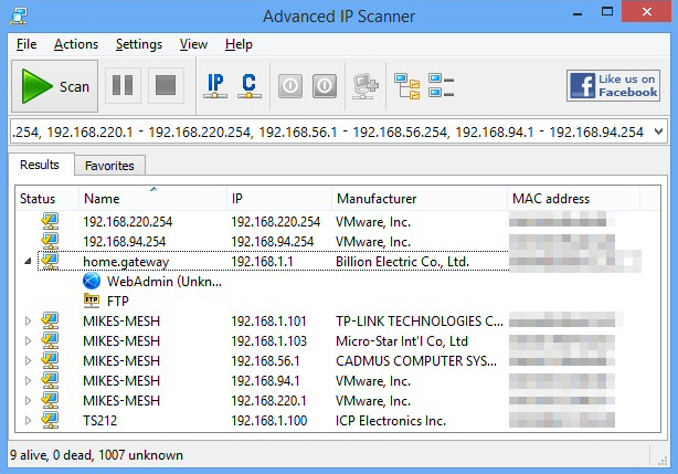 discover and manage network devices with advanced ip scanner