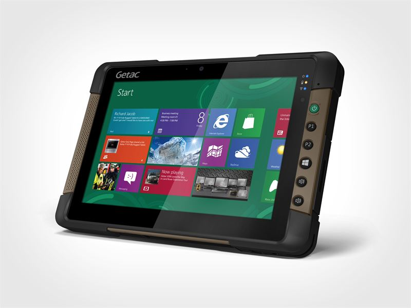 Getac Launches Rugged Windows Tablet For Mobile Workers