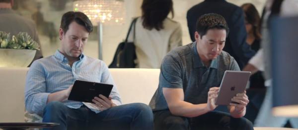 Samsung Galaxy Pro series ad