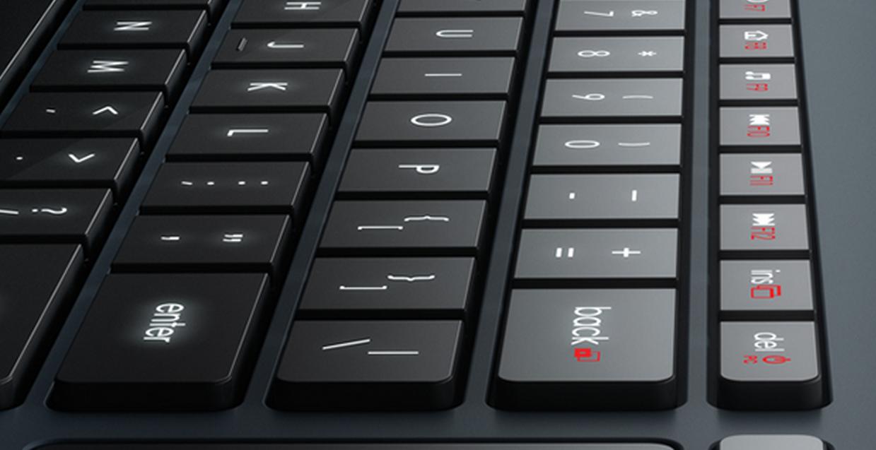 Logitech Announces HTPC Friendly Illuminated Living Room Keyboard K830