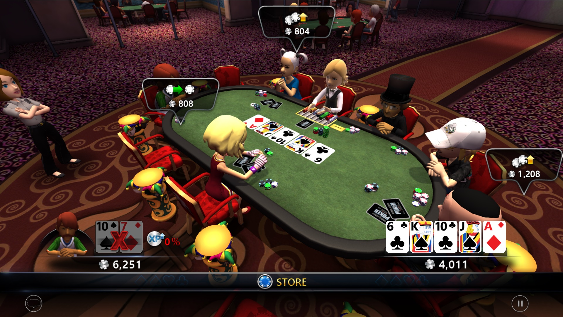 8 player poker games