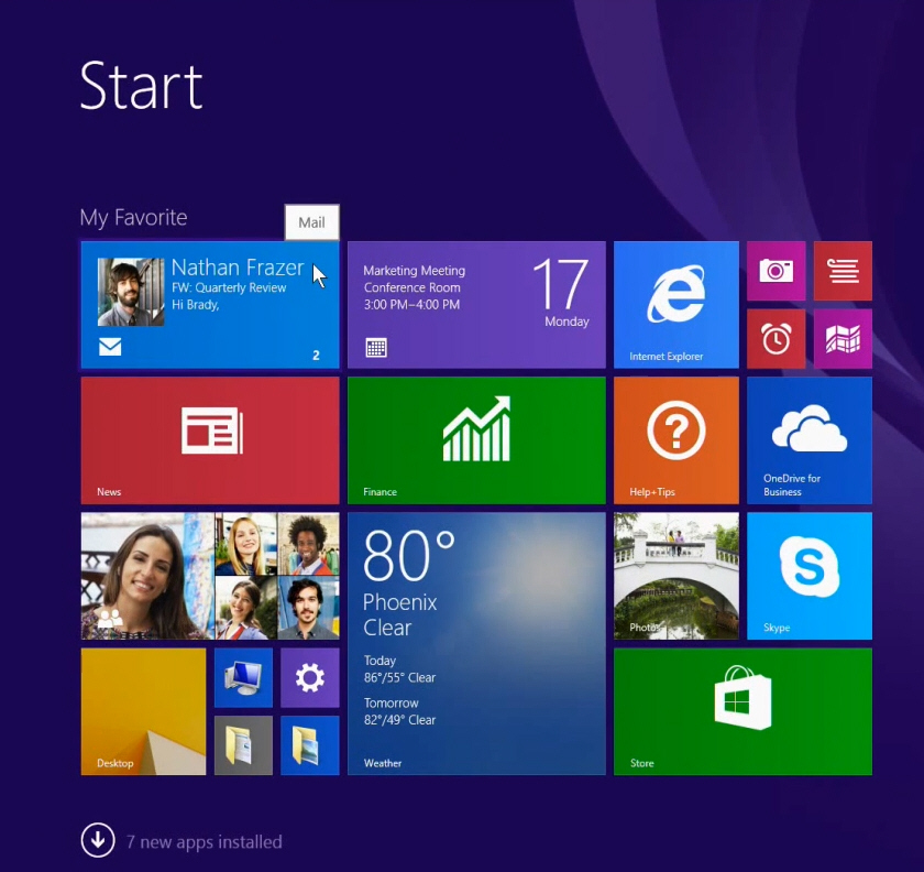 Windows 8 1 Update  Microsoft Invites You To Meet The New