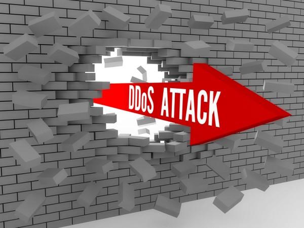 DDoS arrow