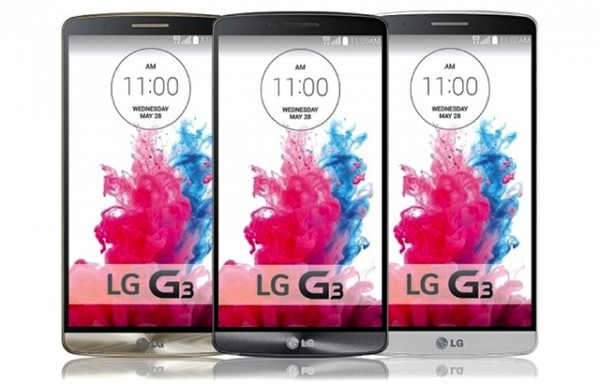 LG G3 goes up for preorder