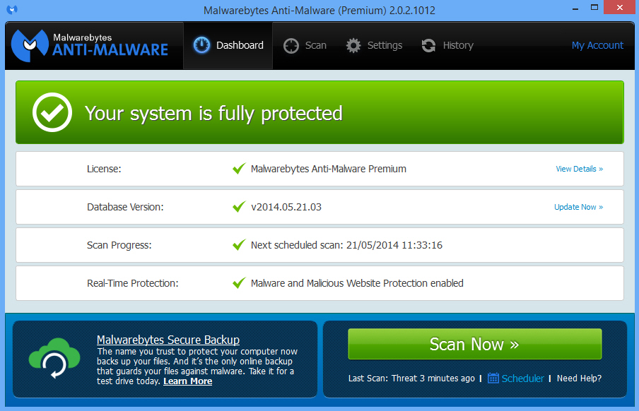Download Free Malwarebytes