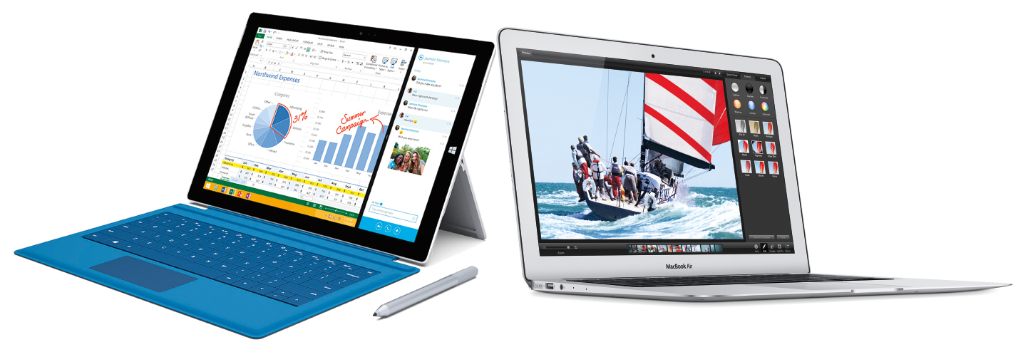 Microsoft Surface Pro 3 vs 2014 Apple MacBook Air: Which is best?