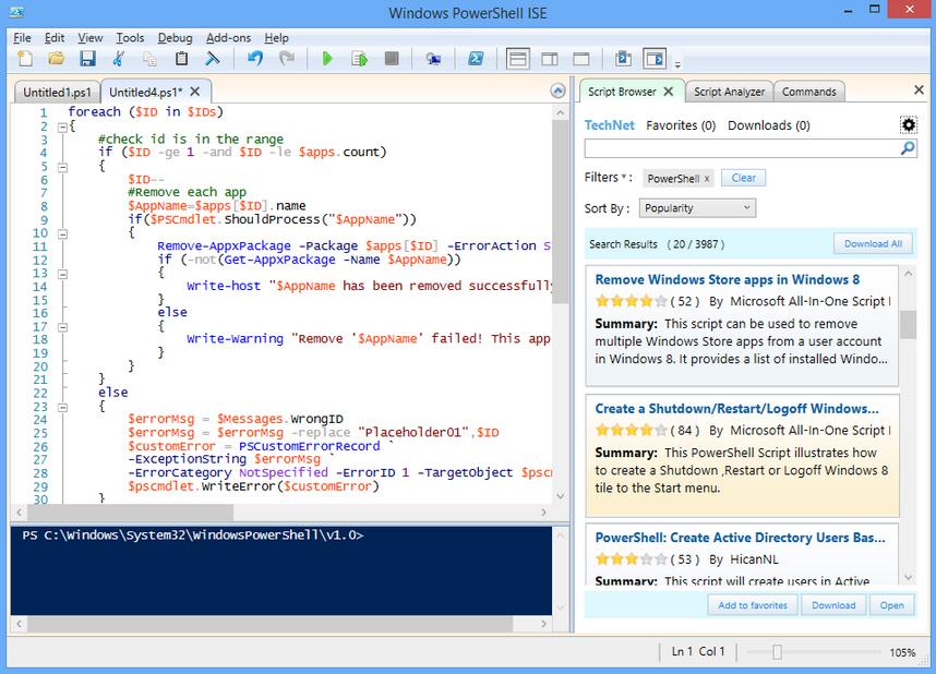 Script Browser