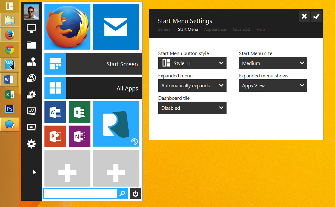 WatFile.com Download Free Start Menu Reviver -- not just another Start menu for Windows 8 x [Q&A