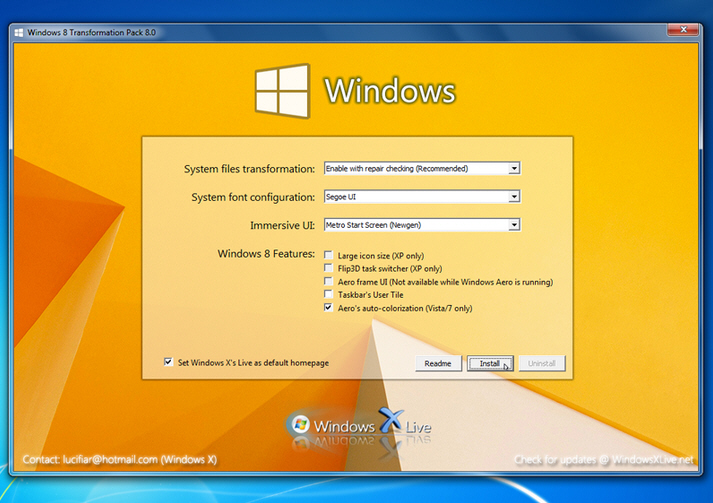 Windows 8 transformation pack 9. 1 review & alternatives free.