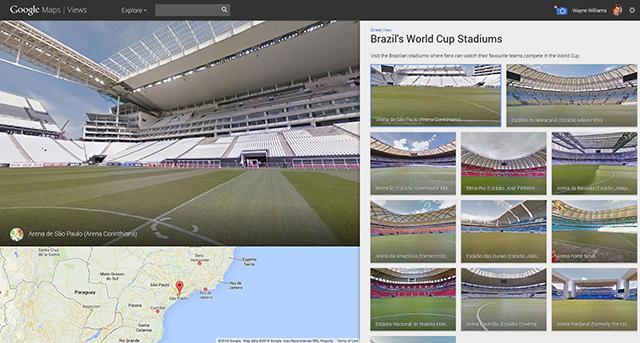 Brazil stadiums