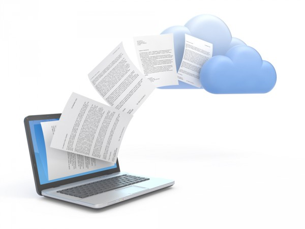 Cloud backup documents