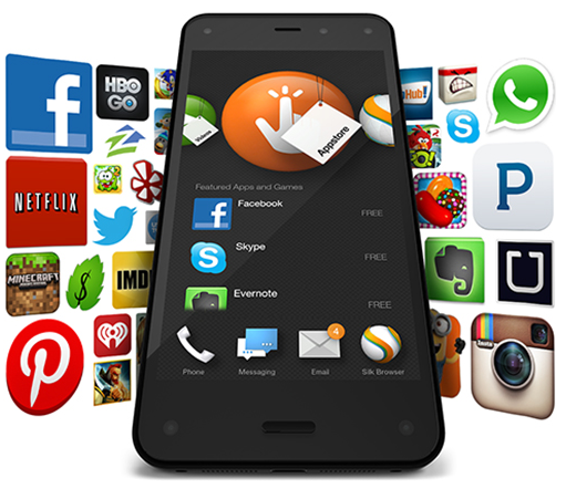 Amazon scores massive boost in apps prior to Fire phone launch