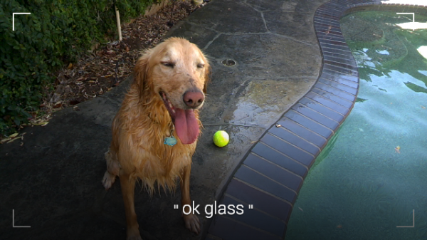 Google Glass Viewfinder