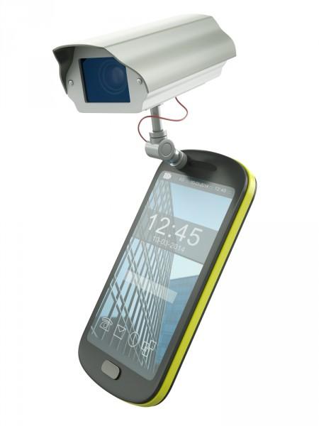 Mobile spy CCTV