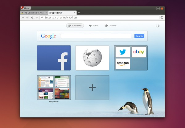 Opera for Linux 24