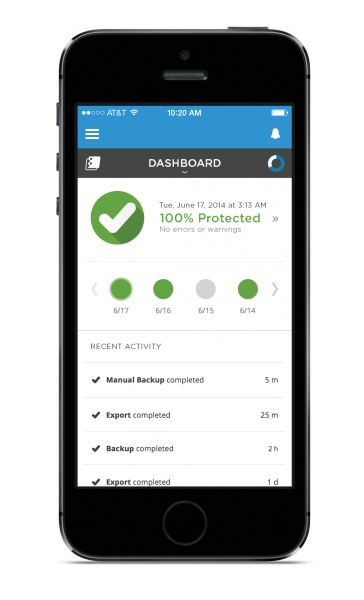 spanning launches new mobile app for salesforce admins