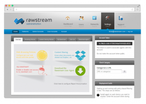 Rawstream framed-settings
