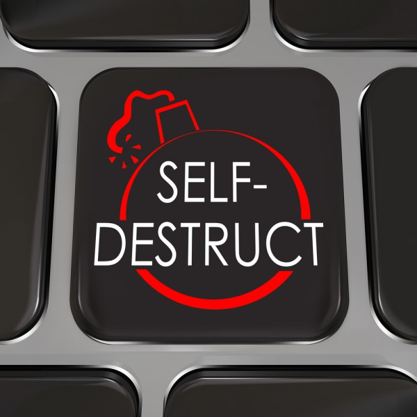 Self-destruct button