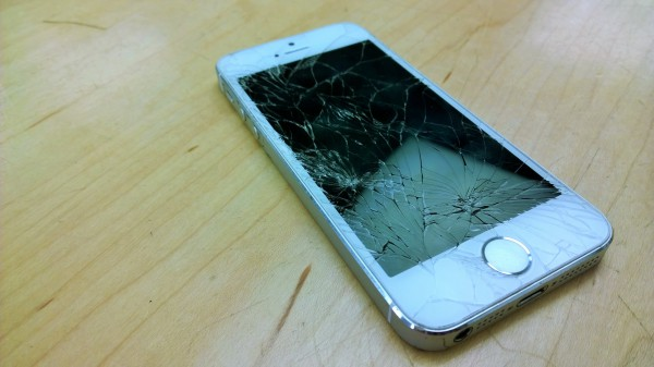 Shattered iPhone 5s