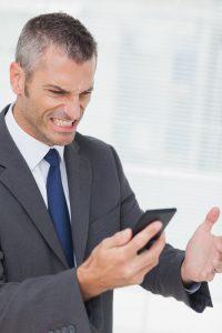 Smartphone anger