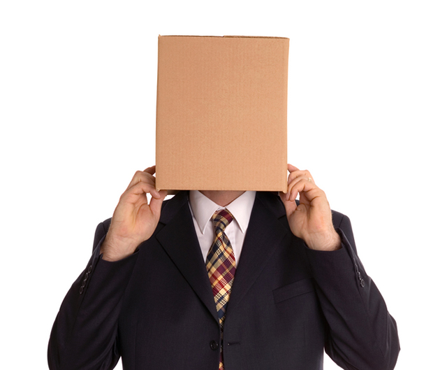 anonymous box