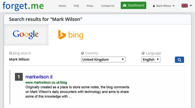 Forget.me now handles 'right to be forgotten' requests for Bing as ...