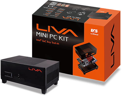 Ecs Officially Announces Liva Smallest Windows Based