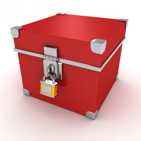 padlock box secure