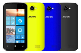 Archos 40 Cesium Smartphone Windows Phone