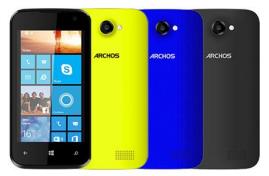 Archos 40 Cesium Smartphone Windows Phone