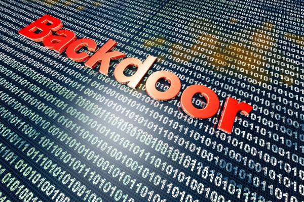 Backdoor vulnerability