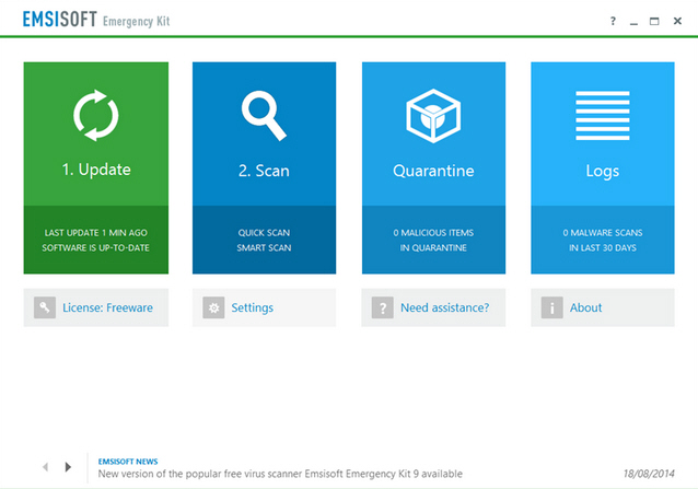 Emsisoft Emergency Kit 9
