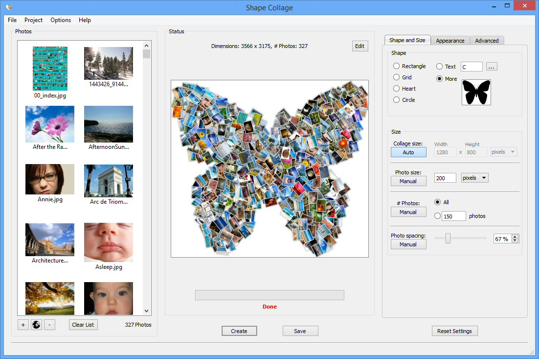 Create Fun Photo Collages In Seconds With Shape Collage