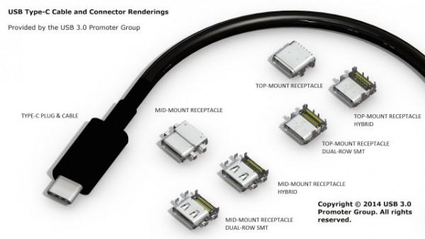 USB Type C Render