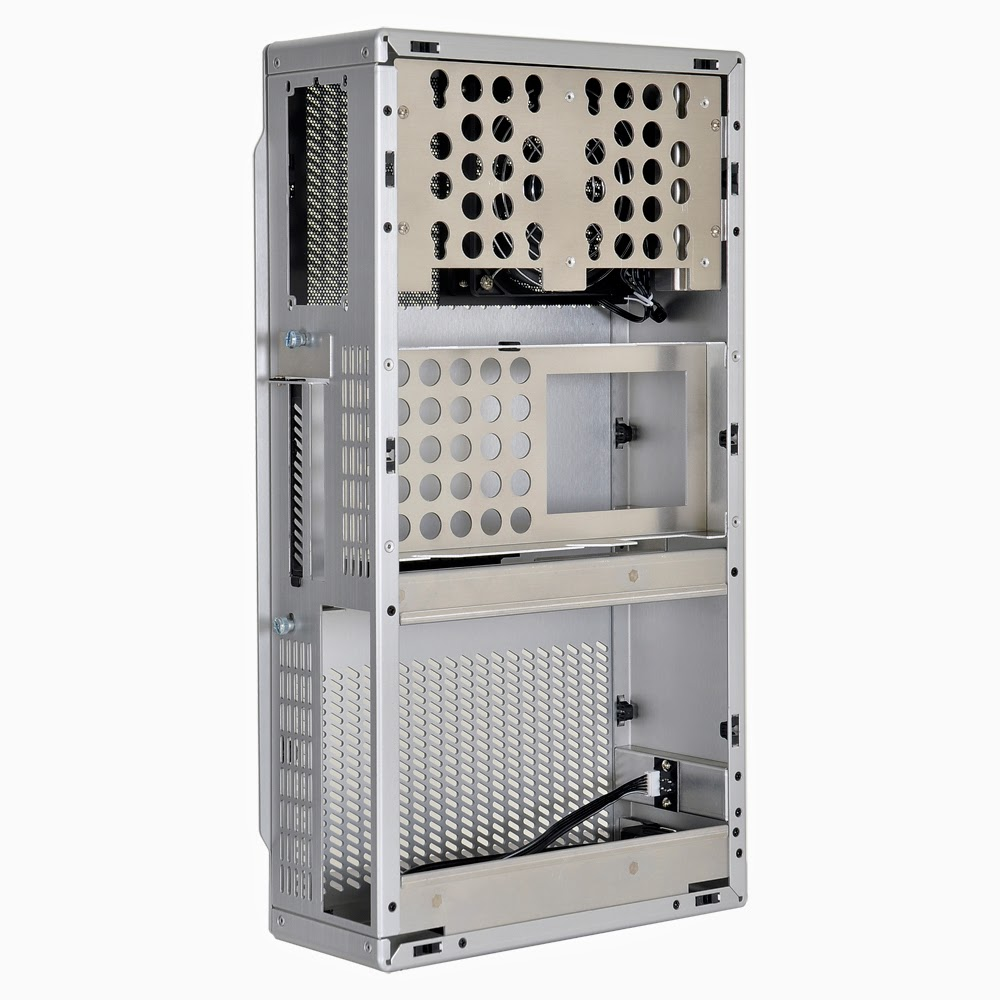 Lian Li Unveils Weird Looking Pc Q19 Brushed Aluminum Mini Itx Case Pc30 Silver Whether You Are To Build A Htpc Or Small Workstation The Seems Be Winner However Not All People Will Love Design