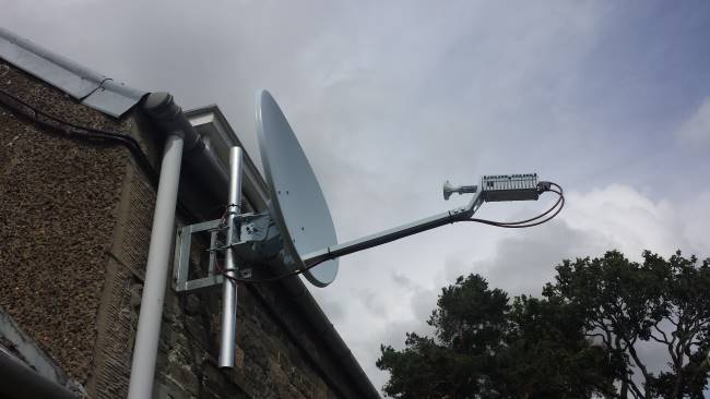Satellite broadband finally opens up the internet to me