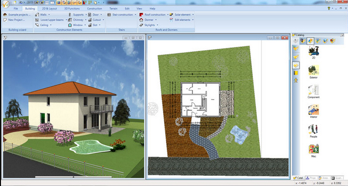 Ashampoo 3d cad architecture 5 introduces 64 bit support Home drafting software free