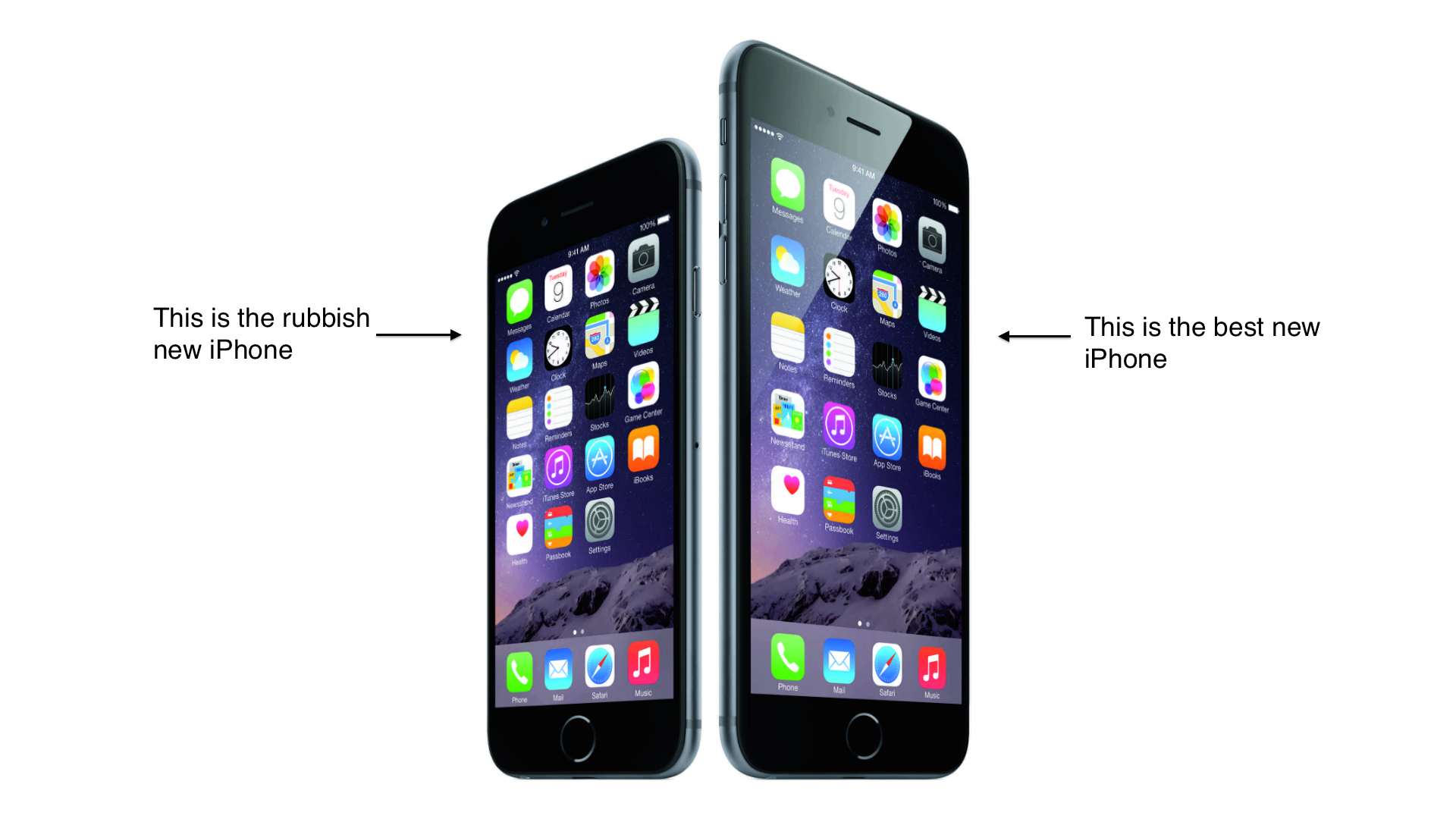 what is the newest iphone called iphone 6 the past called and it wants you back 19565