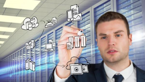 Business database server