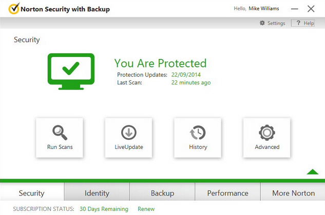Between Symantec Norton and Kaspersky Lab, I trust Symantec Norton Security [ Download ] more than Kaspersky, however, due to the fact that Symantec has not made available their latest Norton One in my country, couple with the fact they have stopped selling physical boxes of Norton Internet Security.