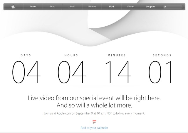 Apple's September 9 event to stream live -- but only to Apple devices